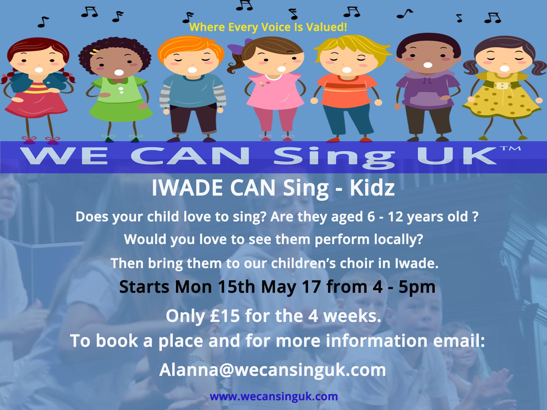 IWADE CAN Sing - Kidz